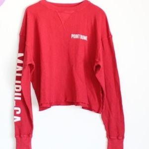 Brandy Melville J Galt Laila Malibu Thermal Shirt0